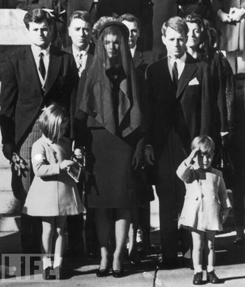 JFK Jr at JFK's funeral