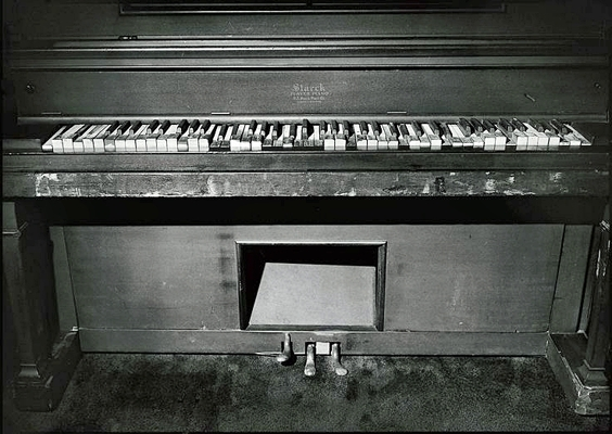 Jerry Lee Lewis's home piano copy