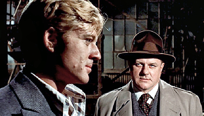 Charles during with Redford  The Sting  1973