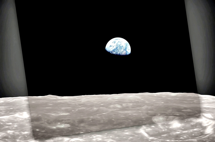 Space-Earthrise