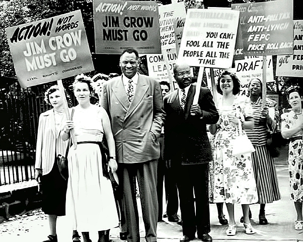 Paul Robeson Pickets