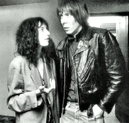Fred Sonic Smith and Patti