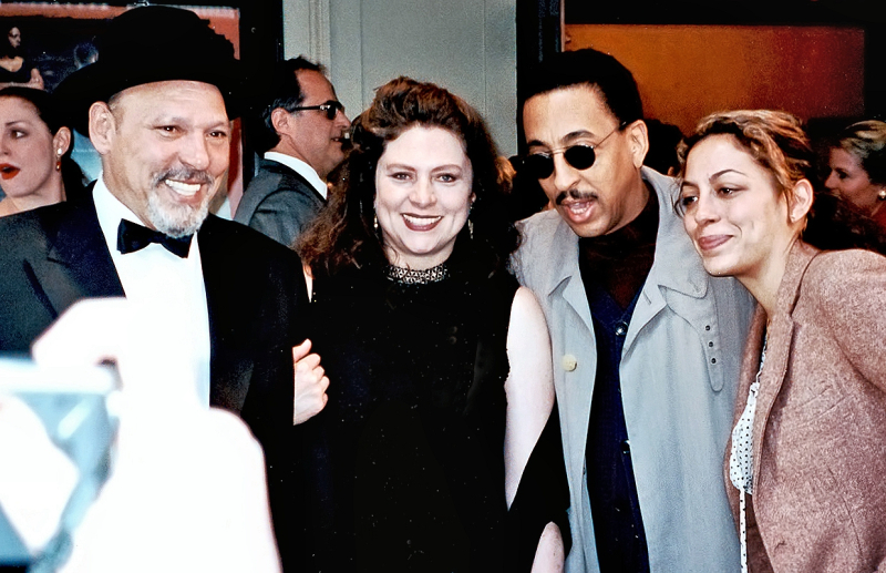 Gregory Hines with August Wilson
