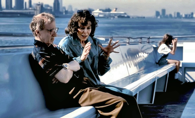 Elaine May with Woody Allen