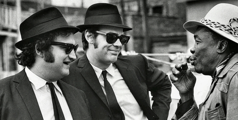 Cover-Blues Brothers with John Lee Hooker