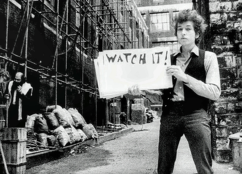 Dylan in Alley