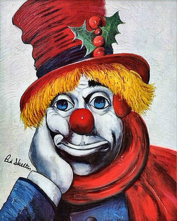 Red Skelton-Holly Clown