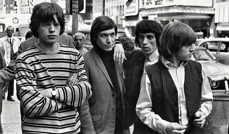 Mick Jagger-The Rolling Stones in New York  June 1964