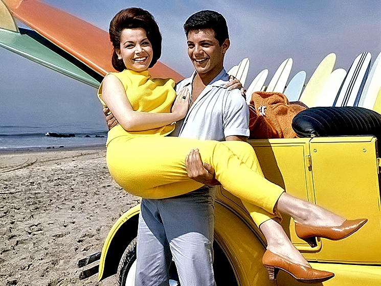 Frankie Avalon with Annette Funicello
