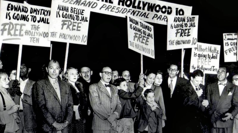 Red Scare-Hollywood Ten Protest
