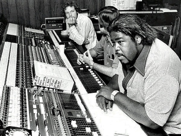 Barry White at console