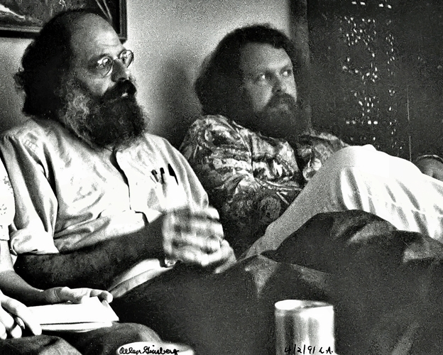 Allen Ginsberg with FB
