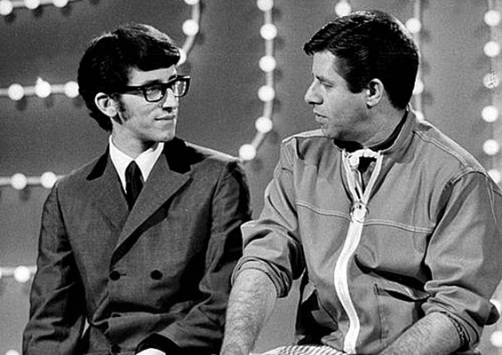 Gary Lewis and his father  Jerry Lewis