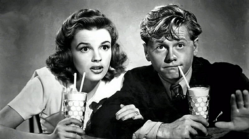 Mickey Rooney and Garland
