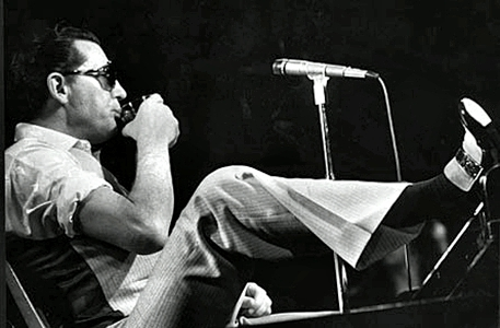 Jerry Lee Lewis-Foot on Piano