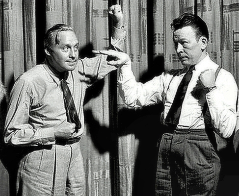 Fred Allen and Jack Benny