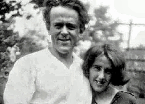 John Reed and Louise Bryant