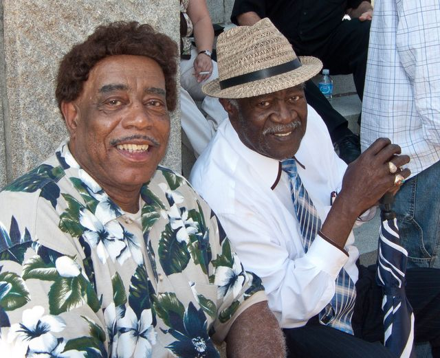 Clifford Curry and Bill Pinkney