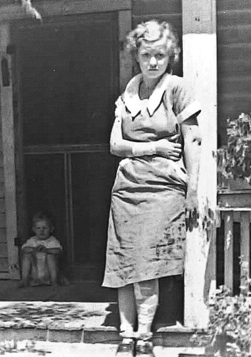 Lois McClain, Wounded Mill Worker