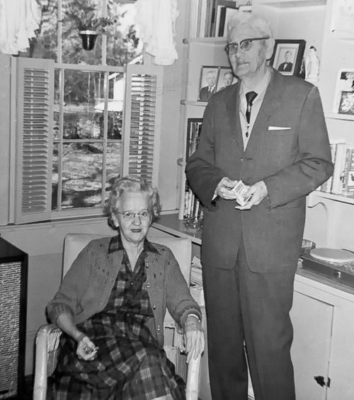 Garrison Cox and his Wife